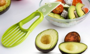 3-in-1 Multifunction Avocado and Fruit Slicer