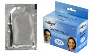 Pack of 30 Optical Lens Glasses Wipes