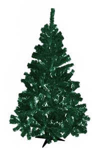 Traditional 6 Ft Christmas Tree - Assorted Colours