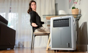 Jocca air cooler and warmer