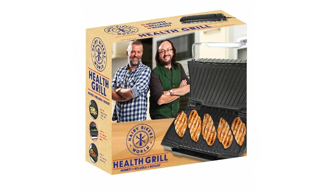 Hairy Bikers family grill