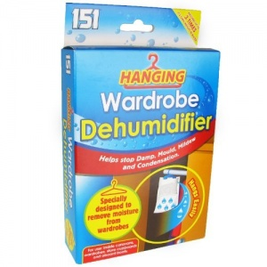 3 Packs of Hanging Wardrobe Dehumidifiers