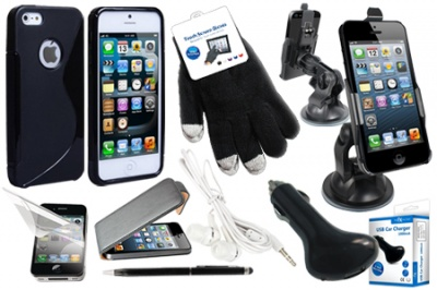 iPhone 5 Phone & Car Accessories Set