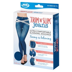 JML TRIM 'N' SLIM JEANS - AVAILABLE IN BLACK AND BLUE