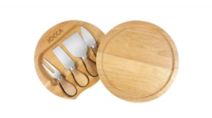 Jocca Cheese Board with 4-pc Knife Set
