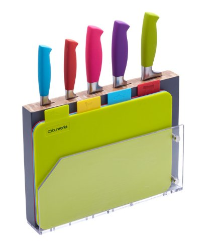 Kitchen Craft Colourworks Knife Set