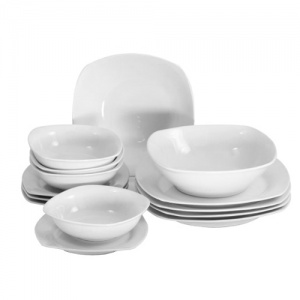 viners timeless 14 piece dinnerware set