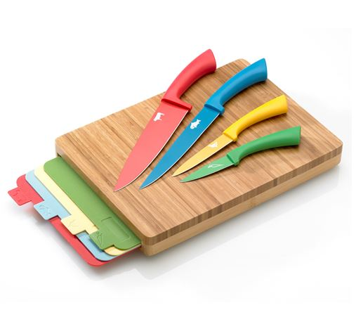 Viners Dolphin Knife And Cutting Boards Set Ebeez Co Uk