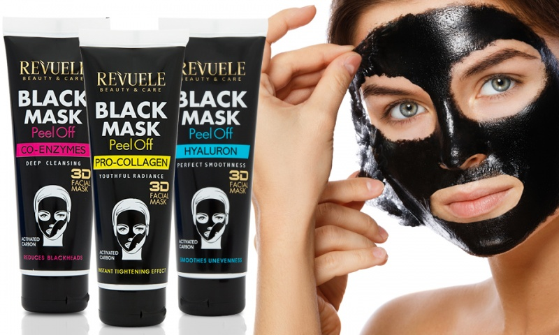revuele black mask peel off with activated carbon ebeez. Black Bedroom Furniture Sets. Home Design Ideas