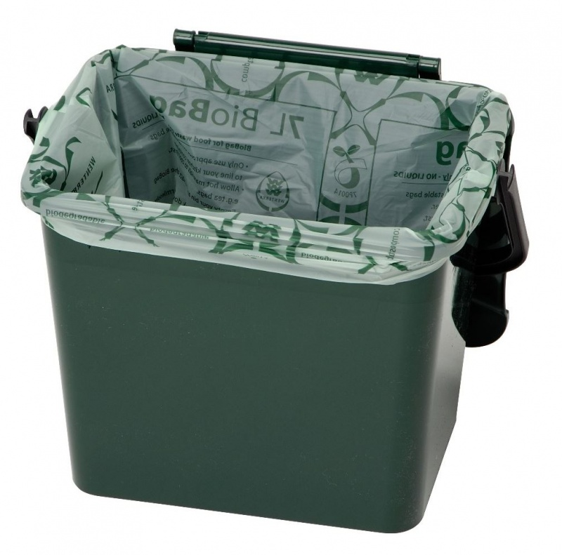 7 Litre Compostable Biodegradable Kitchen Caddy Liners