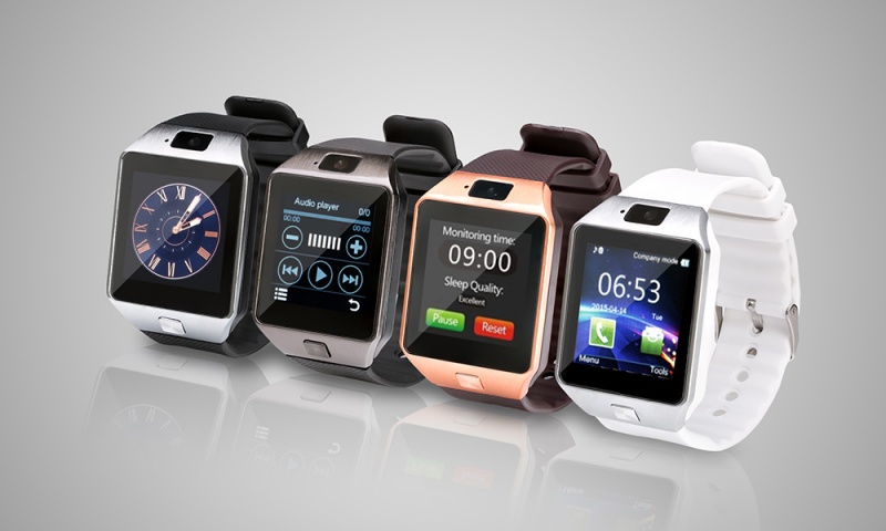 BAS-TeK DZ09 Smart Watch with Camera and Sim Card Function ...