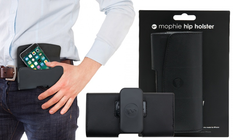 online store d05bb 72b85 Mophie Hip Holster Case 8000 Black iphone 5 5s