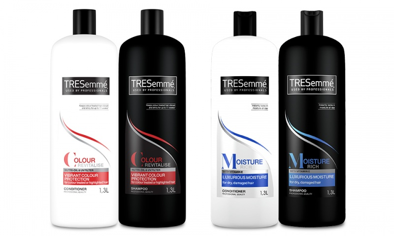 tresemme shampoo and conditioner 1 3l each ebeez co uk