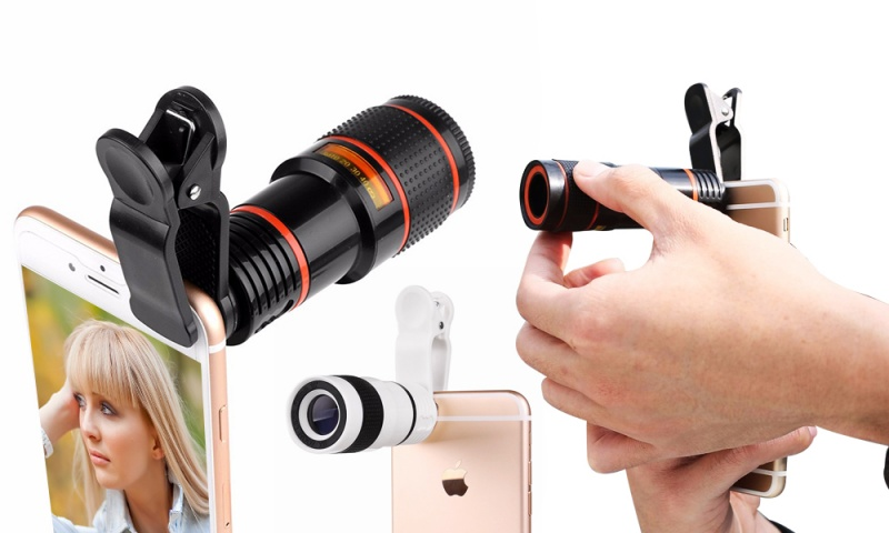 Optical zoom telescope camera lens bestop universal professional