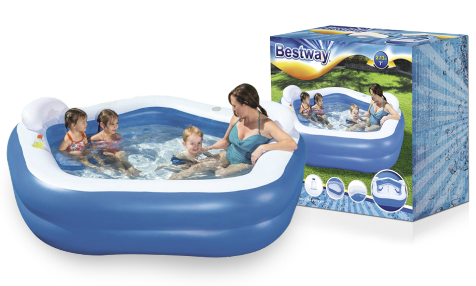 Best Way Swimming Pool Rectangle With Pump Ebeez Co Uk