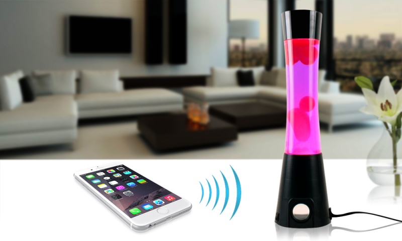 Bluetooth Lava Lamp Speaker