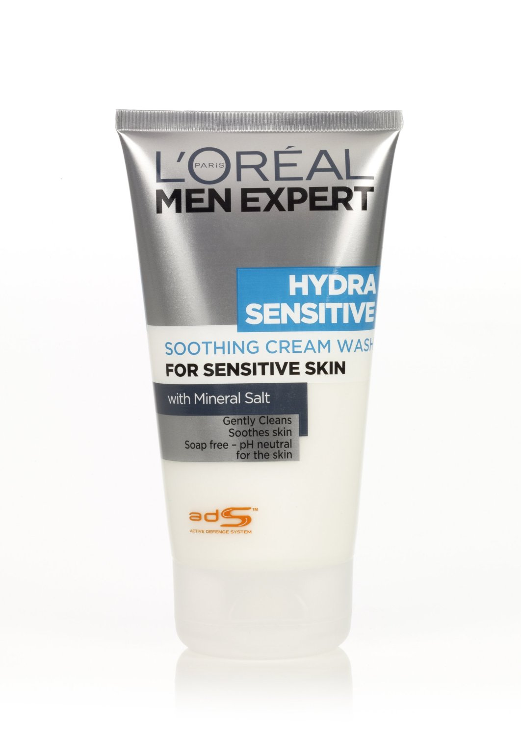 l 39 oreal men expert hydra sensitive soothing cream wash for sensitive skin 150ml. Black Bedroom Furniture Sets. Home Design Ideas