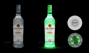 Party Led Light up Bottle Stickers