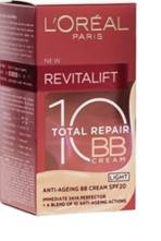 L'OREAL REVITALIFT TOTAL REPAIR 10 SPF20 50ML BB CREAM