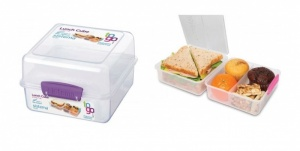 Sistema Lunch Cube To Go Container