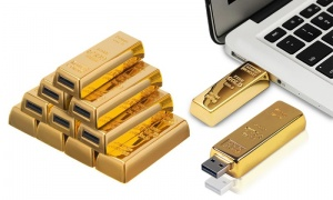 Gold Bar USB Sticks