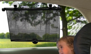 Pack of 2 Auto Rolled Car Window Blinds
