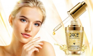 24K Gold Anti-Wrinkle Collegen Moisturising liquid