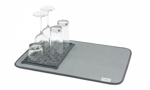 Polder Microfiber Mat with Draining Tray