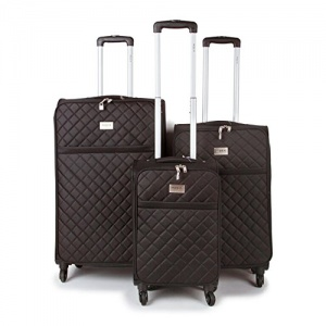 Miss K Branded Couture- Black Luggage-2150