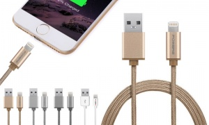 Powerz USB Data Cable for iPhone 6 1.2m MFI