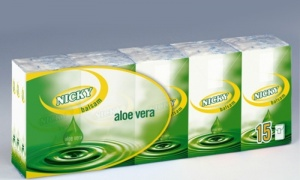15 Packs of Nicky Vera Pocket Tissues