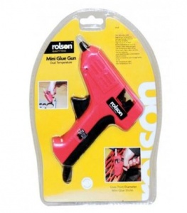 Rolson Mini Glue Gun and Glue Sticks