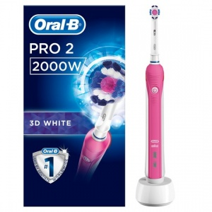 Oral-B Power Handle 2000 Cross Action Pink