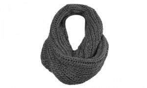 Ladies Crochet Snood with Lurex