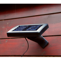 Solar Powered 9 LED Security Light with Sensor
