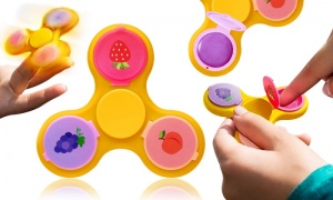 Finger Spinner with Lip balm
