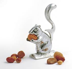 Tala Chrome Squirrel Nut Cracker