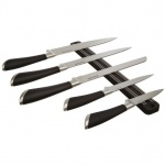 Salter Elegance 5 Piece Knife and Rack Set