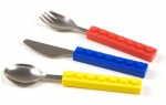 Fred Childrens Cutlery Set `Snack and Stack` Design