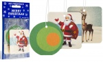 Christmas Car Air Freshner Pack of 3
