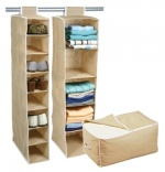 3 Piece Storage Set - Includes Shoe Organiser, Sweater Organiser & Jumbo Storage Bag