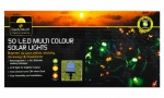 50 LED Multi Colour Solar Lights