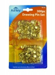 300 Drawing Pins, For Use In The Home, Office, School