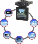 Rolson In car HD Day & Night Car Camera with 8GB Memory