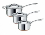 Raymond Blanc 3pc Saucepan Set