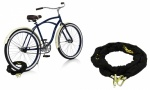 Rolson Bike Chain Lock 1.8m