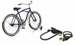 Rolson 2pc Bike Lock Set - Black