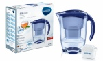 BRITA Elemaris Cool Water Filter Jug and Cartridge Blue
