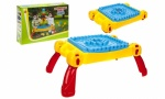Child's Activity Table With Building Blocks