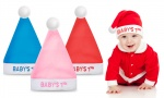 Baby's Christmas hats 3 assorted